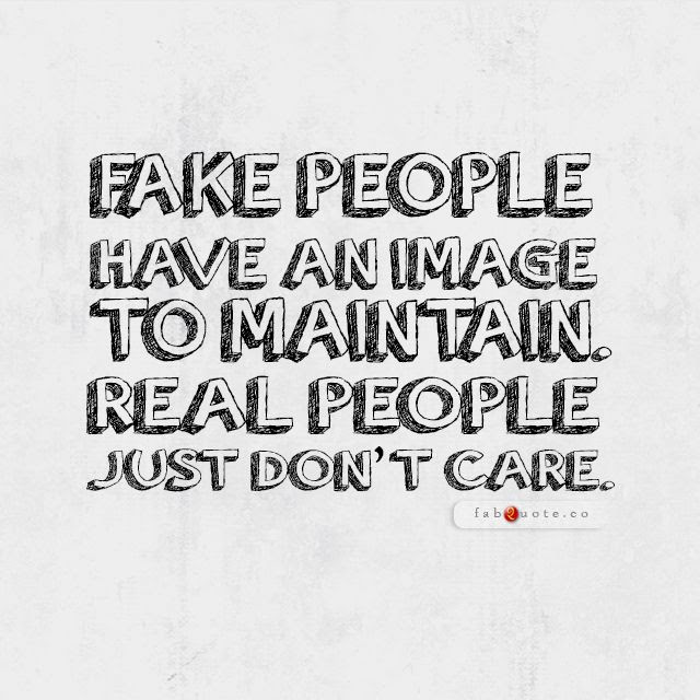 Quotes About Fake World 51 Quotes