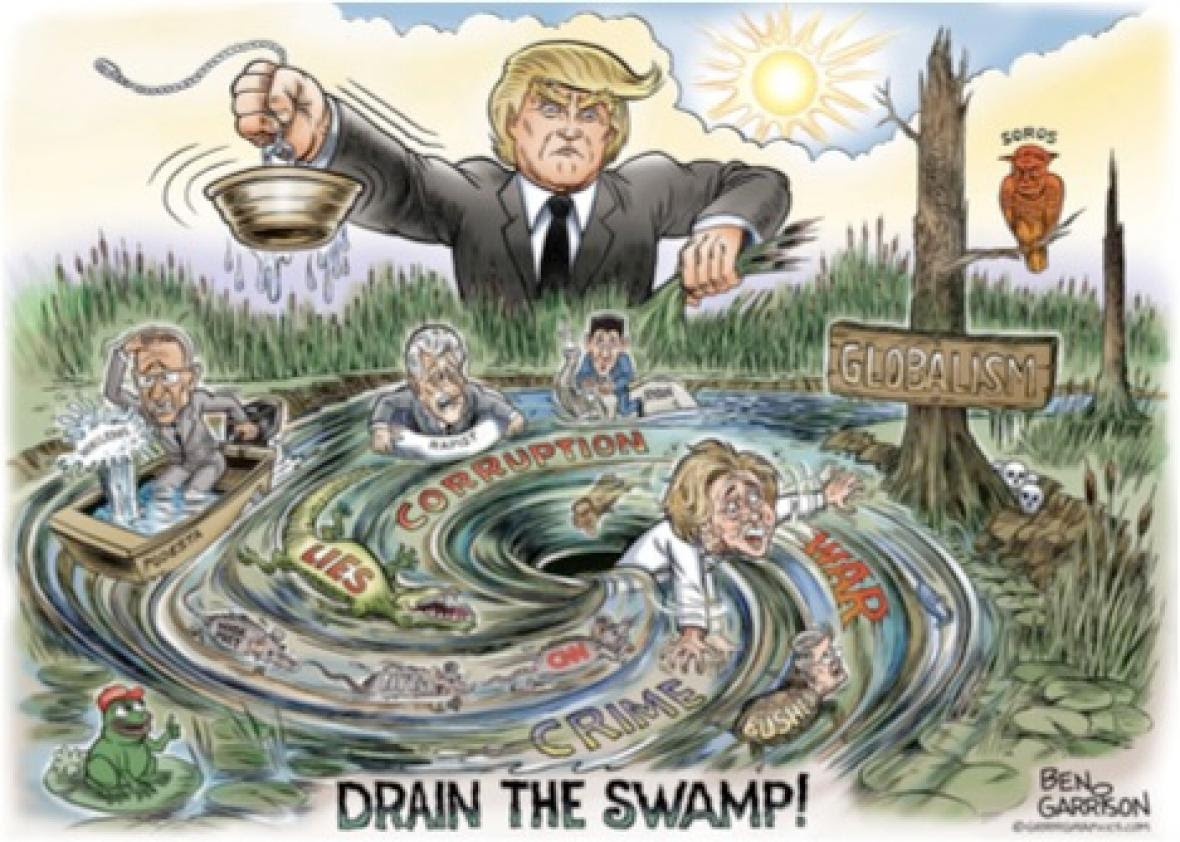 Image result for LETS DRAIN THE SWAMP