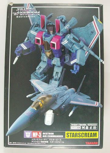 Transformers Starscream (Masterpiece) - caja