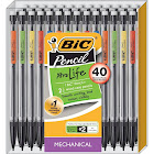 Bic #2 Xtra Life Mechanical Pencils (40 Count) - Multicolor