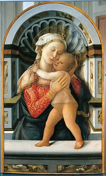Archivo:Madonna col bambino, palazzo medici riccardi, filippo lippi.jpg