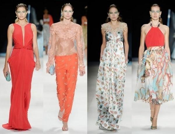 tecidos fluidos entre as tendências para a Primavera Verão 2015