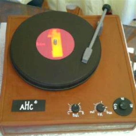 15 best images about record player cake ideas on Pinterest