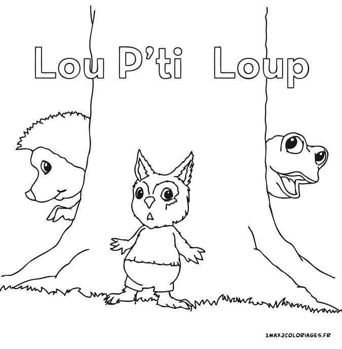 Coloriages Des Drôles De Petites Bêtes Lou Ptit Loup