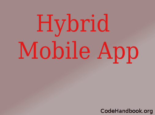 How to Create Hybrid Mobile App For Adding Two Numbers