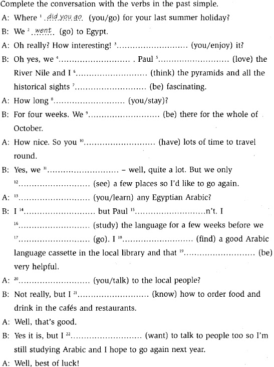 71 ENGLISH EXERCISES PDF 4 ESO