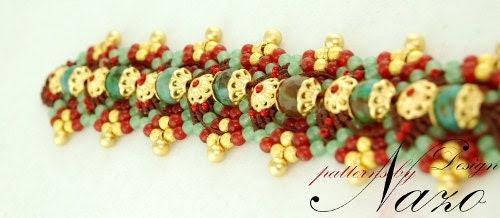 Bead Pattern - Hagia Sophia - Macrame Bracelet Pattern - Best Macrame Tutorial for Beginners - CrochetBeadRopes