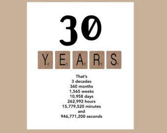 30th birthday cards free printable