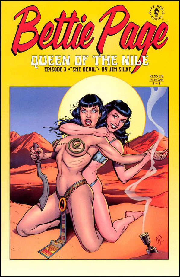 Bettie Page - Queen of the Nile #3
