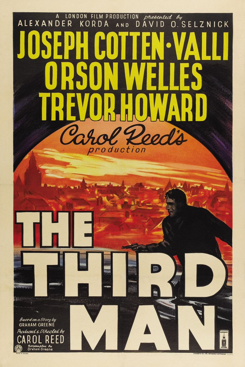 Extra Large Movie Poster Image for The Third Man (#1 of 8)