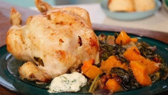 Phil Vickery pot-roasted chicken recipe for Mother's Day ...