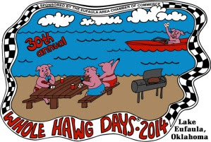 Whole Hawg 2014 Pigs on Beach