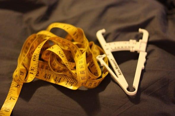body fat percentage tape measurement method
