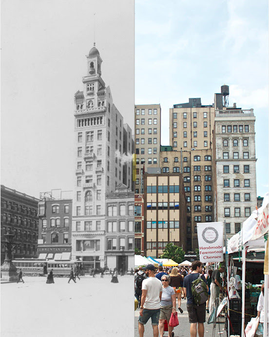 The e'er modern town has  simply about history behind it How Has Time Affected New York?