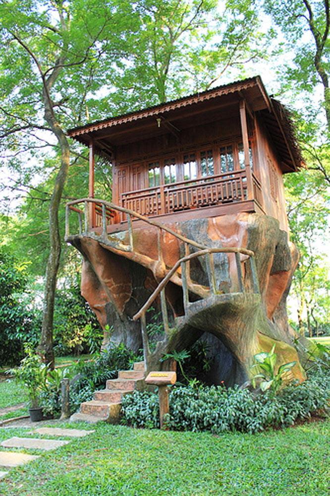 Gambar Rumah Pohon Indah  2017 Age