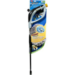 Carrand Wash Jet Power Wand with Microfiber Wash Pad Automotive Cleaning Brush Set