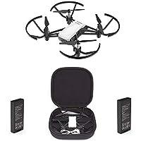 DJI Tello Combo Camera Drone 5 MP - 1 Extra Battery + 1 Tello Drone + 1 Carry Case