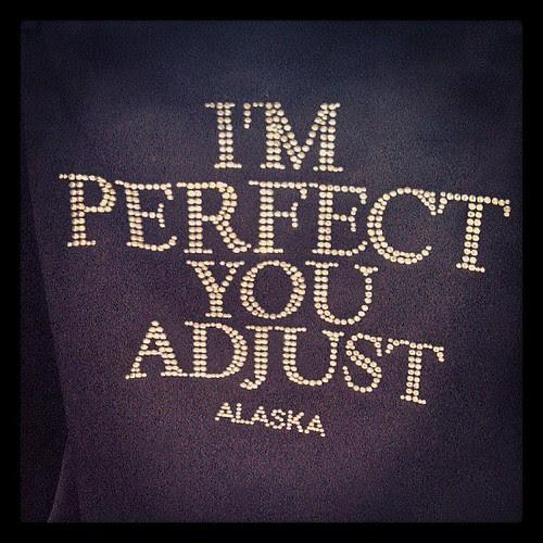 As seen in Alaska...
