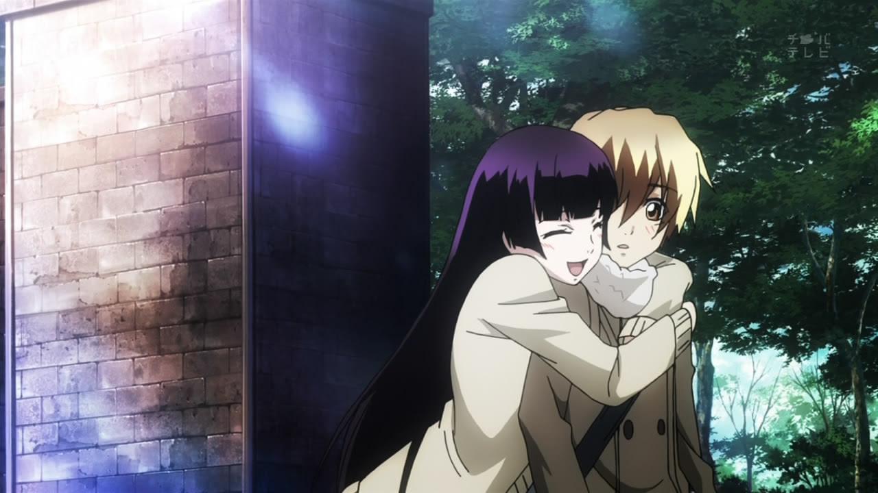 Yuuko And Teiichi Tasogare Otome X Amnesia Dusk Maiden Of