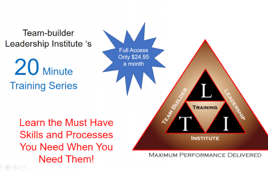 Products - The Team-builder Leadership Institute
