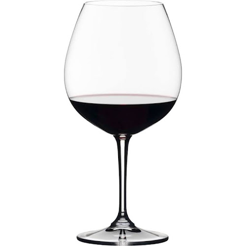 Riedel Bravissimo Pinot Noir Wine Glass, Clear - 4 pack