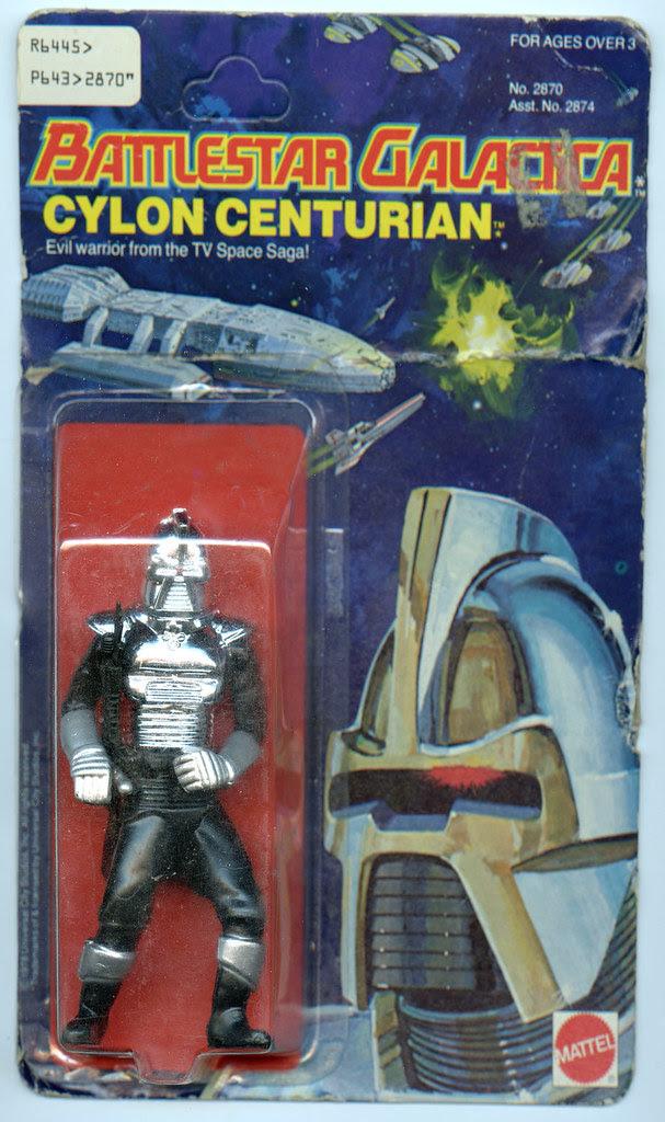 Battlestar Galactica Toys - Cyclon Centurian