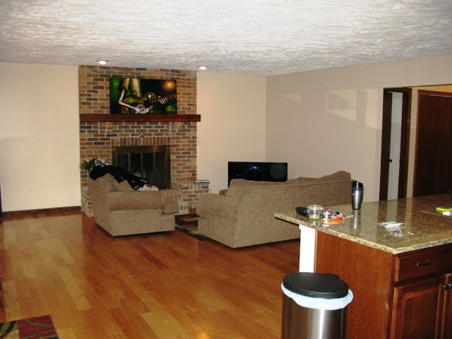 Color Ideas for kitchen/living room (open floor plan ...