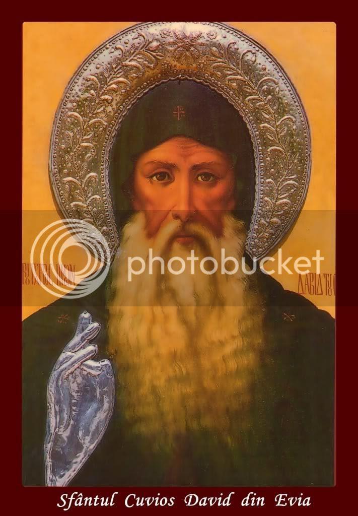 Sfântul David din Evia, marele făcător de minuni