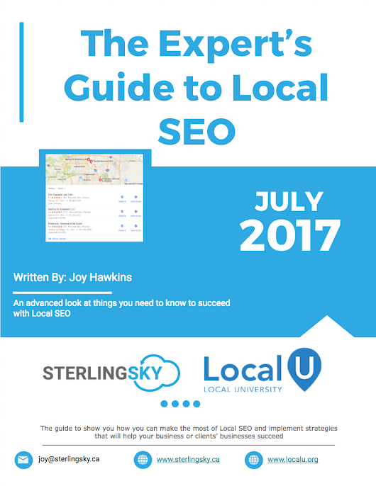 June Updates to The Expert's Guide to Local SEO Are Here! - Local University