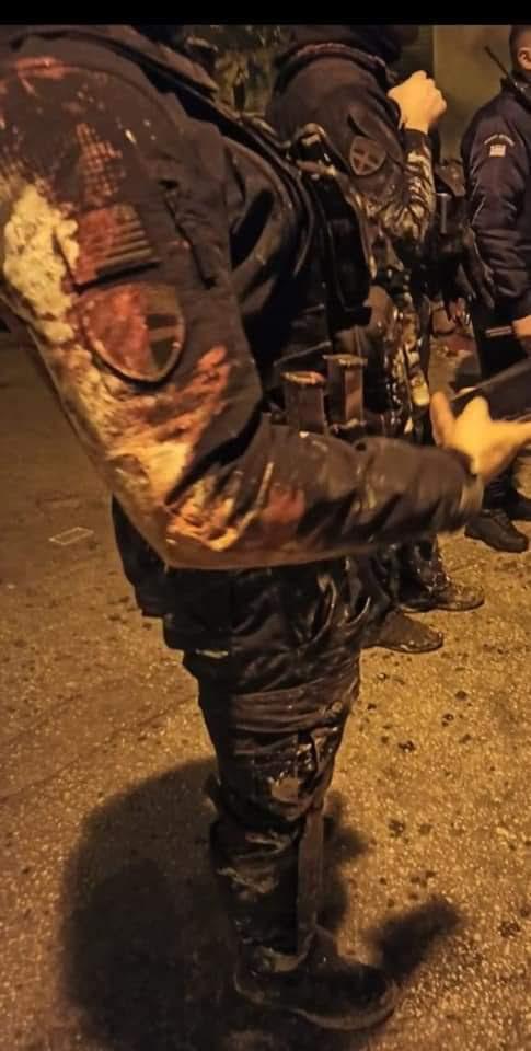 Χαϊδάρι: Αντιεξουσιαστές βανδάλισαν εμπόρευμα αντιπροσωπείας επιχειρησιακού εξοπλισμού, που είχε χορηγήσεις εξοπλισμό στην ΟΠΚΕ