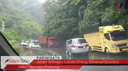 Explore Keindahan Wisata Sumatera Barat dan Tanjakan Sitinjau Lauik