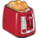 """Hamilton Beach Ensemble 22812 2-Slice Toaster - 7.5"""""""