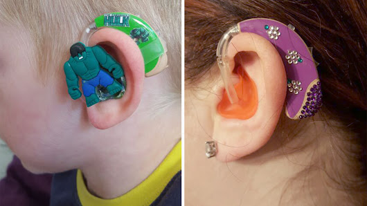 Inspired by partially deaf son, mom designs awesome hearing-aids for kids