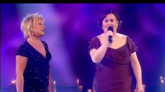 Susan Boyle fulfills her dream of singing with her musical ...