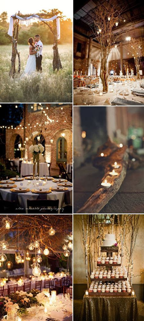 50  Genius Ideas to Incorporate Wood Into Your Wedding