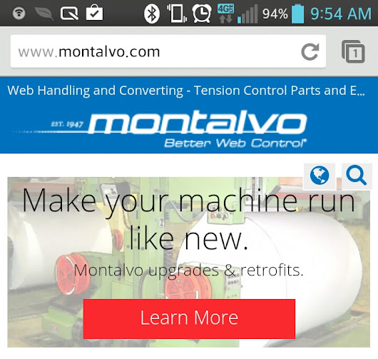 The NEW Montalvo.com and Montalvo Mobile