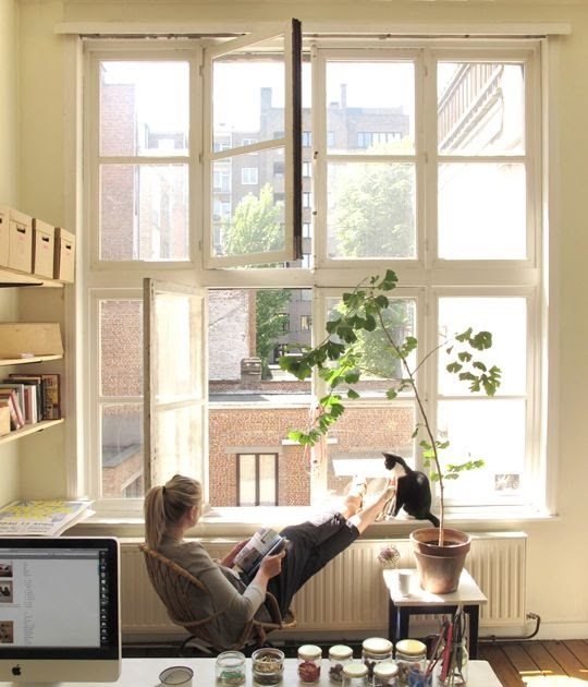 22 Scandinavian Home Office Designs Decorating Ideas: Crazy Office Design Ideas: Inspiring Scandinavian Home