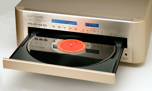 The EIP Laser Turntable plays records without touching them - Decoded Magazine