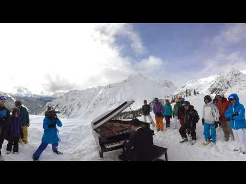 Philip Chiu Plays Ginastera....on a Mountain in BC