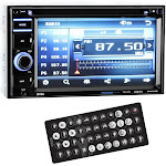 "Boss BV9364B 6.2"" 2-DIN In-Dash DVD/MP3 Bluetooth Touchscreen Car Receiver by VM Express"