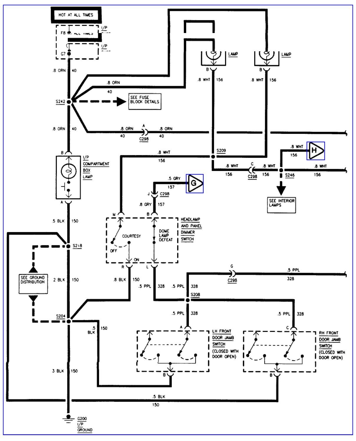 Gmc Wiring Schematic  Fuse Wiring