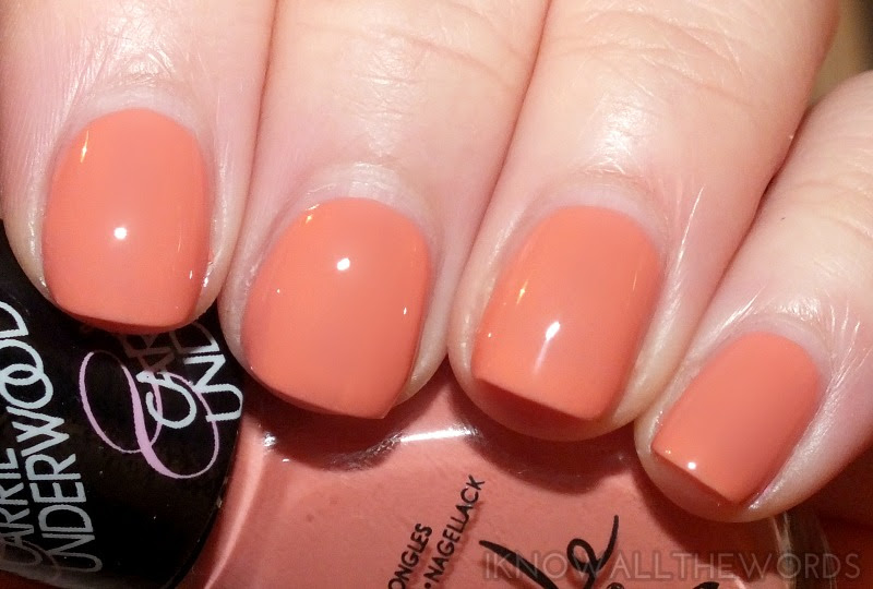 nicole by opi carrie underwood collection- Sweet Daisy (6)