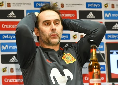 World Cup: Julen Lopetegui Finally Speaks Out Over Sack By Spain New Real Madrid manager, Julen Lopetegui...