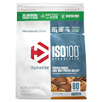 Dymatize ISO100 Hydrolyzed 100% Whey Protein Isolate Powder, 80 Servings, Vanilla Bliss