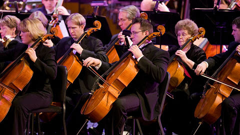 Orchestra at Temple Square Fall Concert