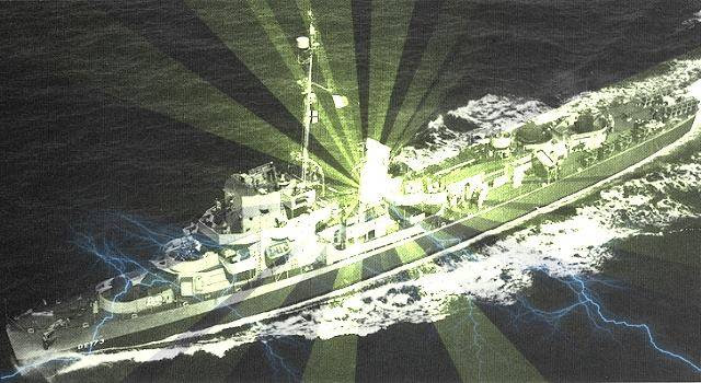Die USS Eldridge und das Philadelphia-Experiment - 60 Jahre danach (Bild: gemeinfrei / Bearbeitung: L. A. Fischinger)