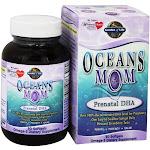 Garden of Life Oceans Mom Prenatal DHA 350 mg. 30 Softgels