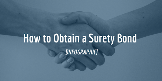 How to Obtain a Surety Bond [Infographic]