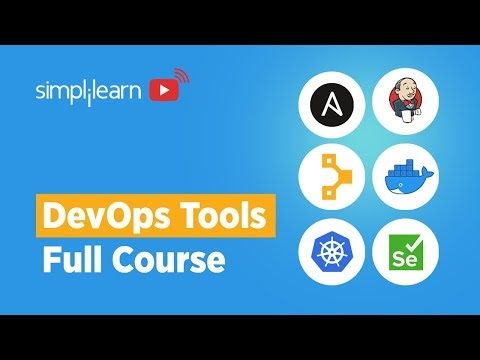 DevOps Tools Full Course | DevOps Tools Explained | DevOps Tools Tutorial For Beginners |Simplilearn