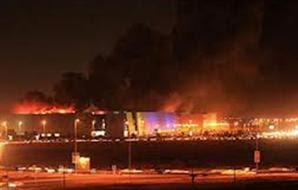 "صور .. حريق محدود بمول هايبر وان بـ ""6 أكتوبر"" 31/8/2012"
